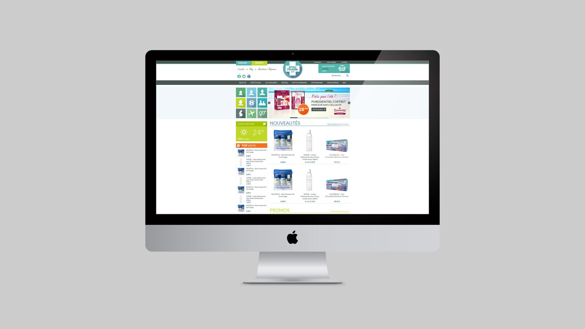 Atoupharm – Parapharmacie en ligne