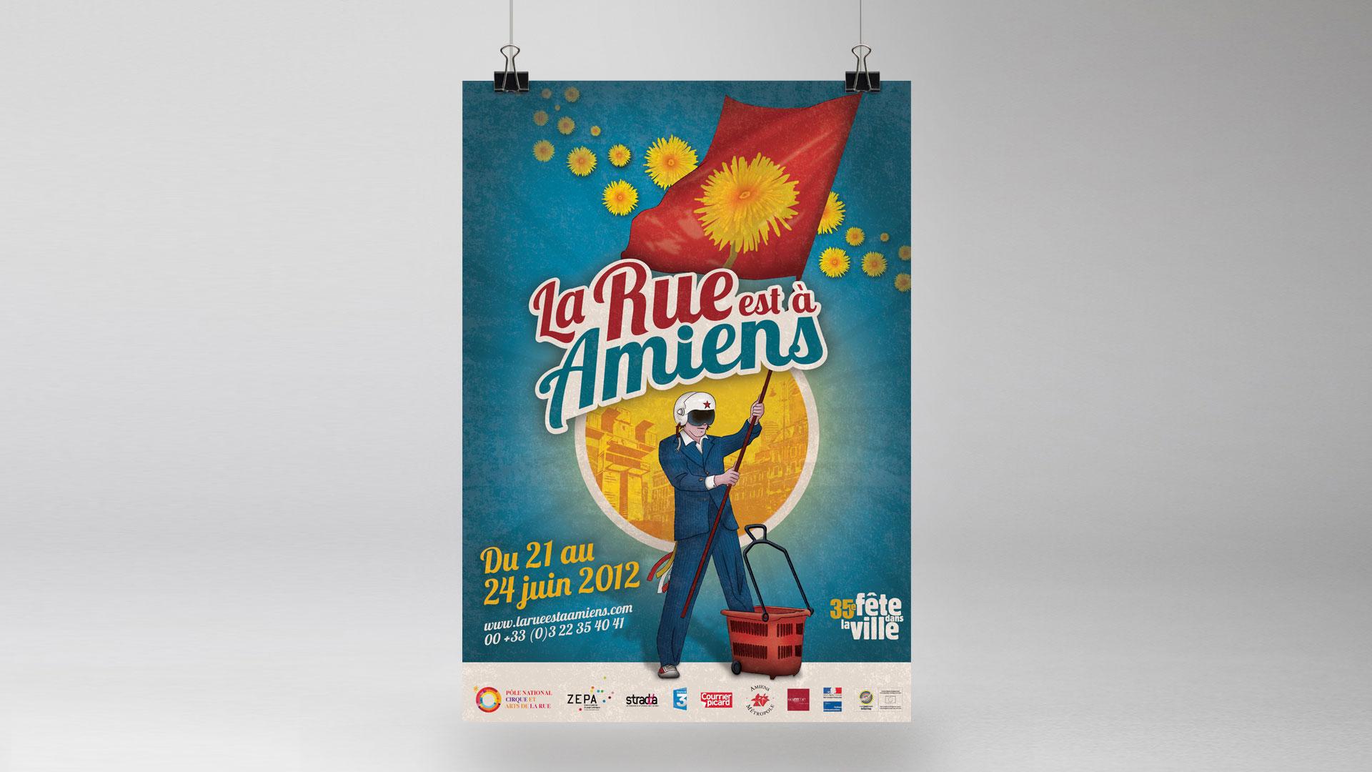 La Rue est à Amiens 2012 – Festival