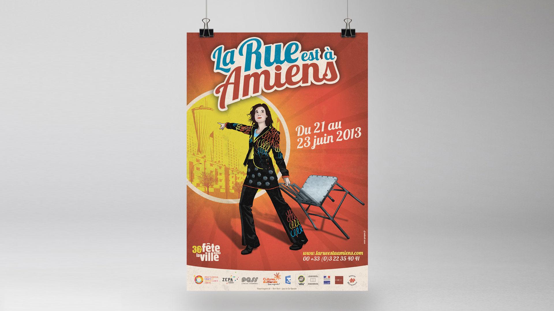 La Rue est à Amiens 2013 – Festival