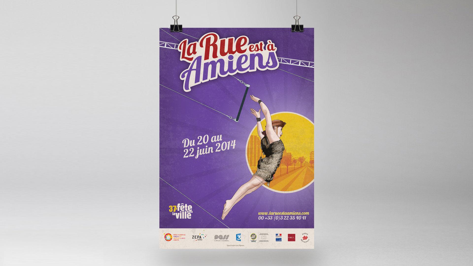 La Rue est à Amiens 2014 – Festival