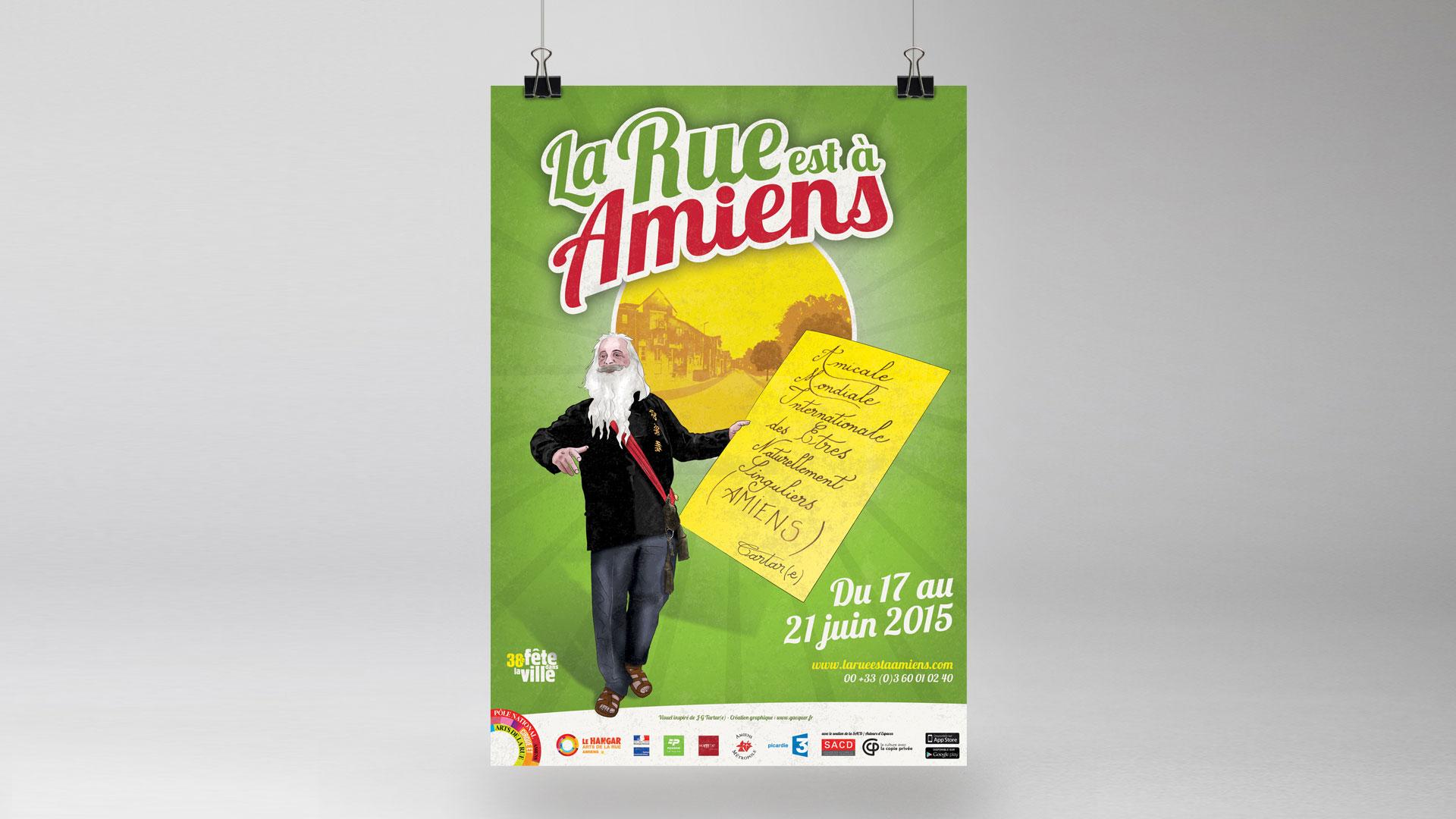 La Rue est à Amiens 2015 – Festival