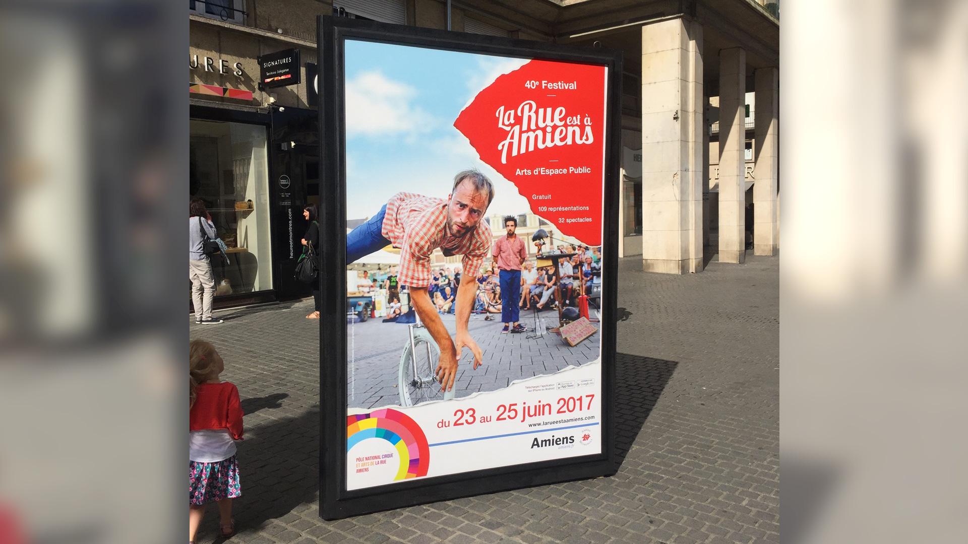 La Rue est à Amiens 2017 – Festival